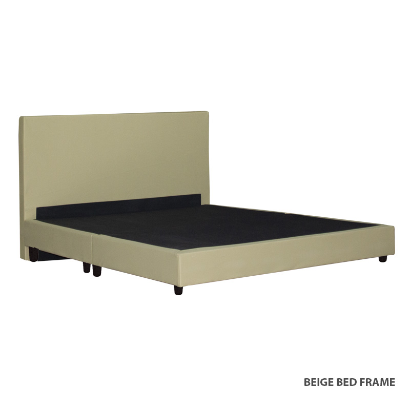 Charm Bed Frame(BROWN/GREY/BEIGE AVAILABLE)