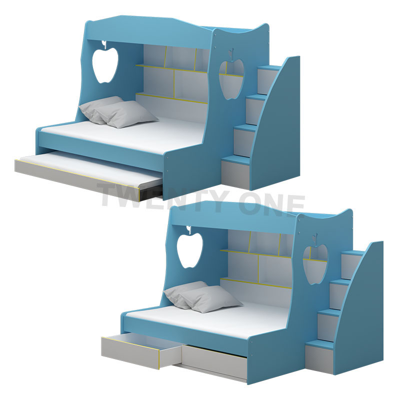 CARTER CHILDREN BED MODEL 3 (WITH DRAWER/WITH PULLOUT AVAILABLE)