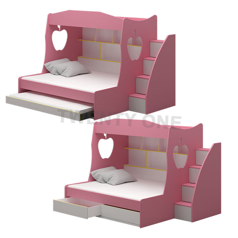 CARTER CHILDREN BED MODEL 4 (WITH DRAWER/WITH PULLOUT AVAILABLE)
