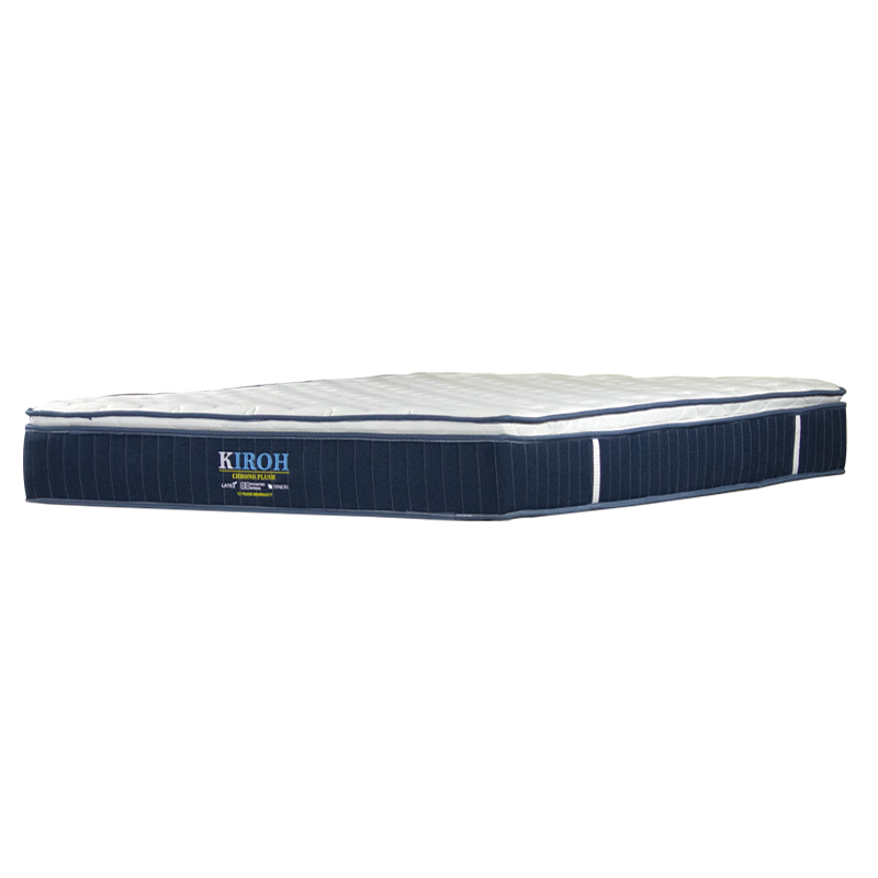KIROH CHRONO PLUSH POCKETED SPRING MATTRESS 10 INCH
