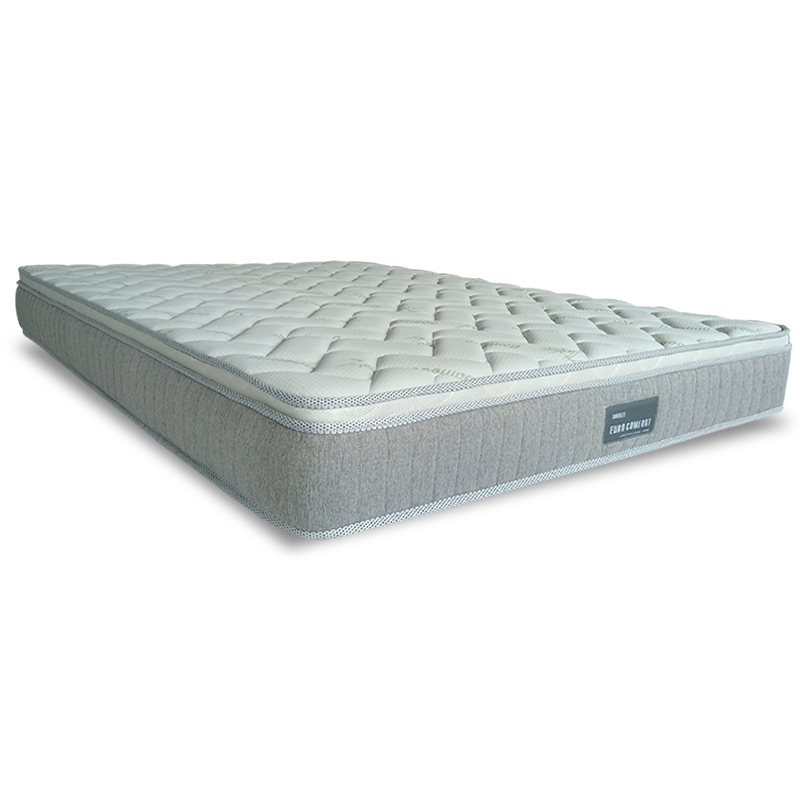 SNOOZE EURO SUPPORT LATEX BONNELL SPRING MATTRESS