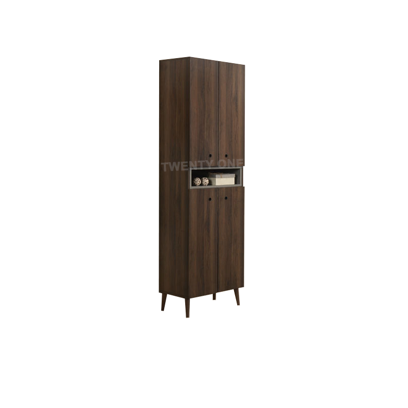 LUCAS SHOE CABINET WITH TOP