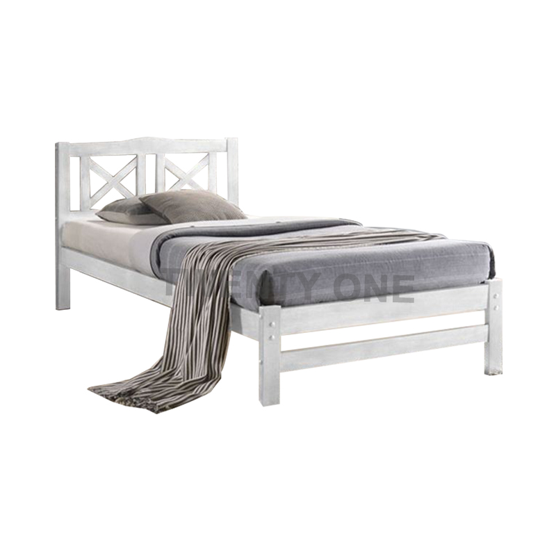 AMLA WOODEN BED FRAME MODEL 2