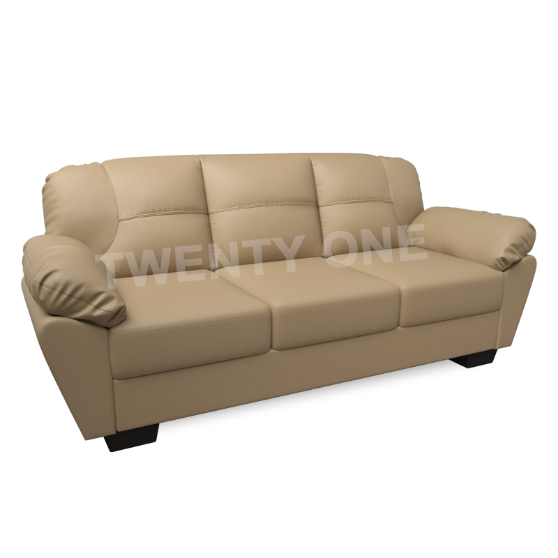 Allium Faux Leather Sofa