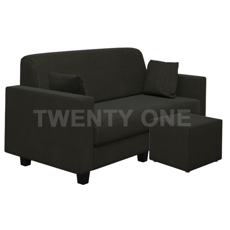 CARSON FABRIC SEATER SOFA WITH STOOL MODEL 1