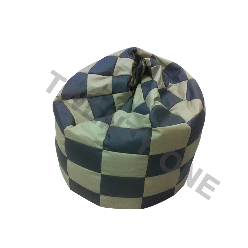POLLY LEATHER BEAN BAG - TWO COLOUR